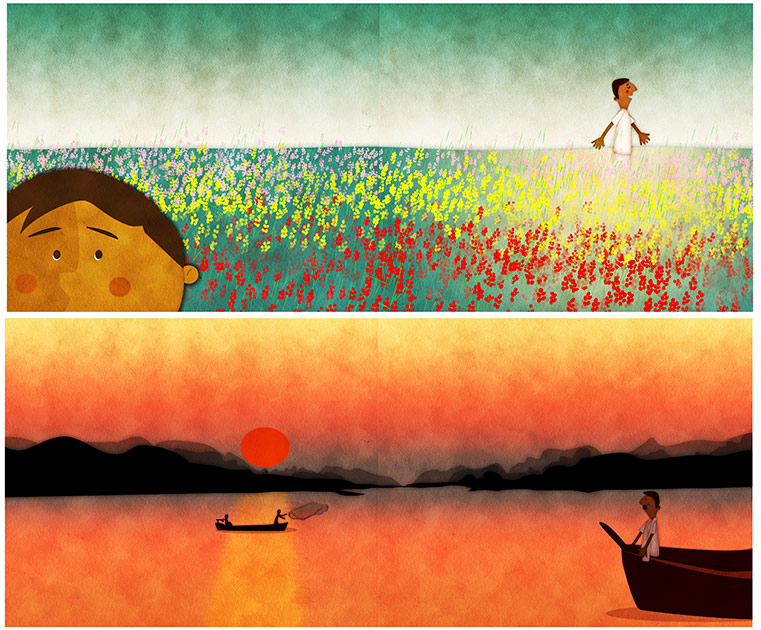 Farid's Rickshaw Ride - 48 page picture book