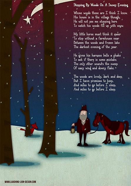 Snowy Evening Poem