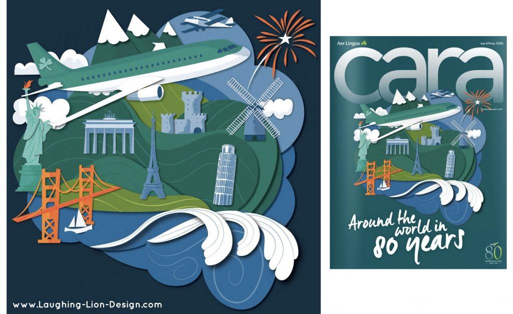 Aer Lingus Cara Magazine Cover