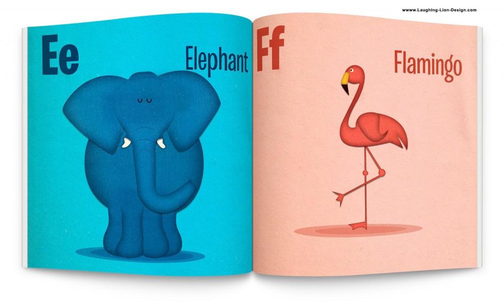 Animal ABC Book - Interior - Jennifer-Farley