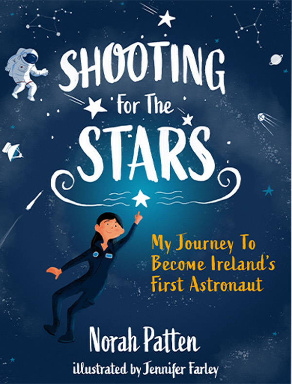 Shooting For The Stars Book Illustrated & Designed by Jennifer Farley