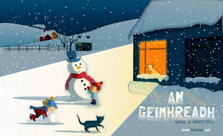 Bliain na nAmhrán (Year of Song) - Winter Jennifer Farley
