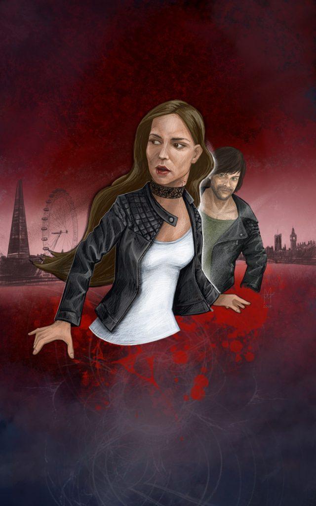 book cover concept - martin beckett art