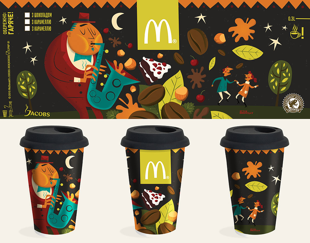 McDonalds Coffee Cup