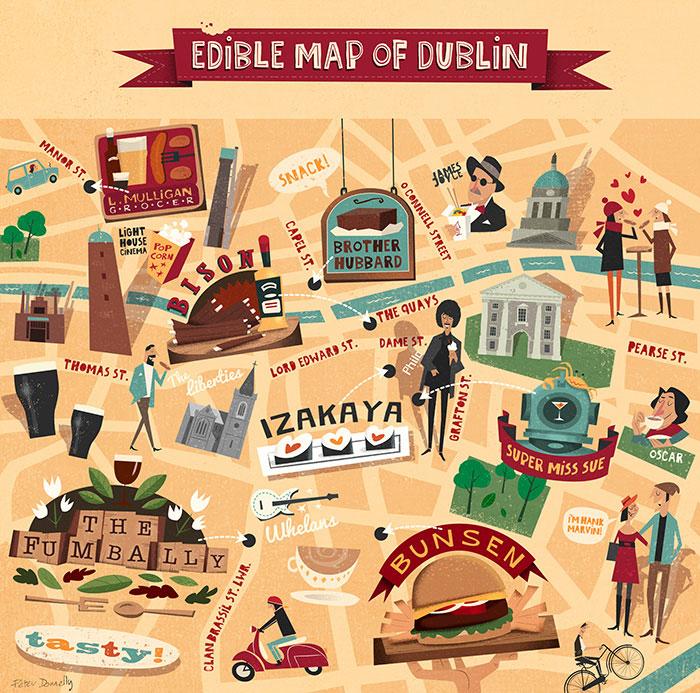 The Edible Map of Dublin