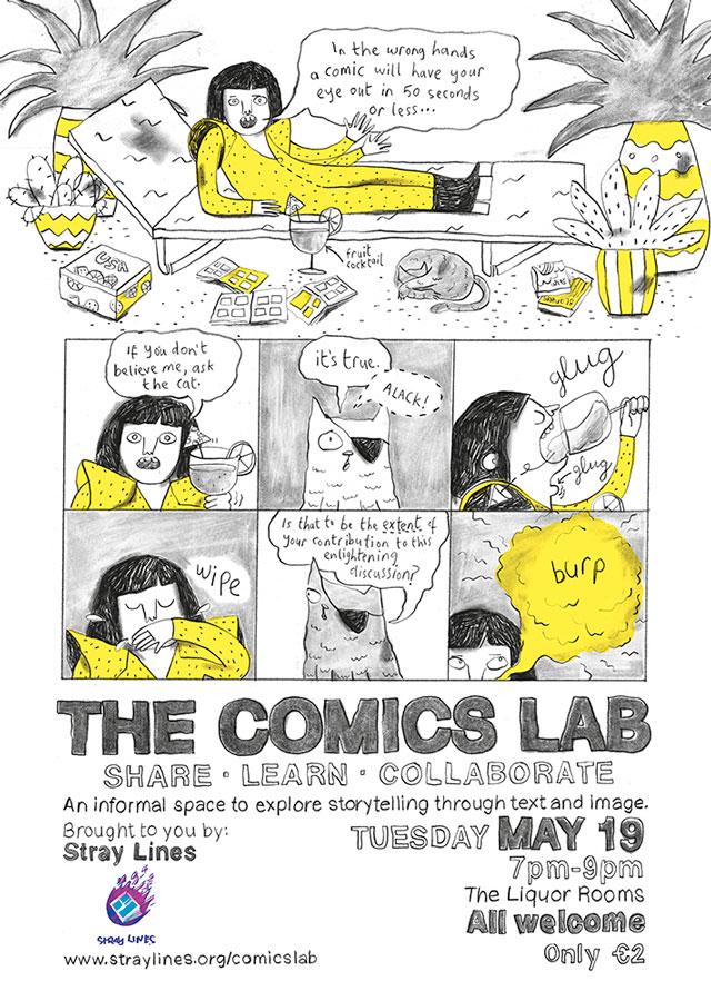 sarah-bowie-comics-lab-poster