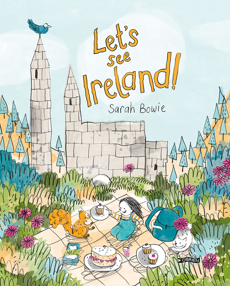 Lets See Ireland - OBrien Press - childrens book