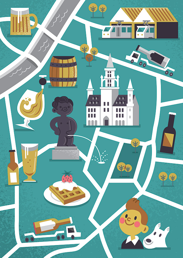 Coors Brussels Map