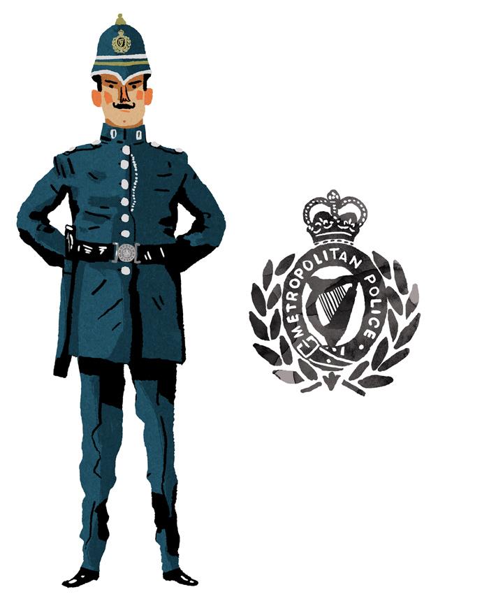 Dublin Metropolitan Police Constable.