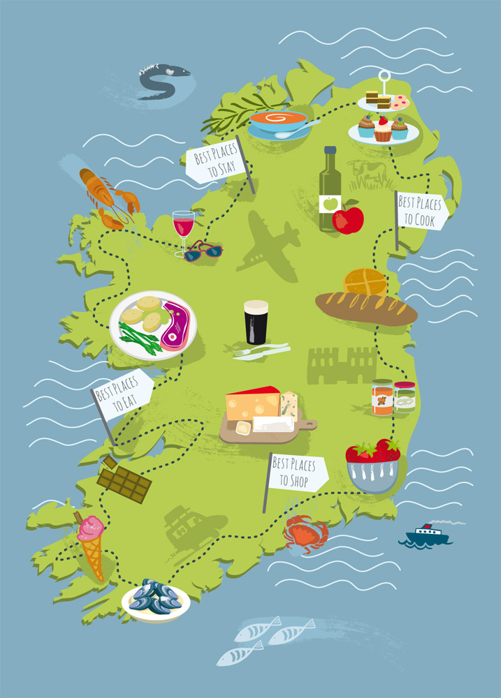 Food Trail Map - Good Food Ireland