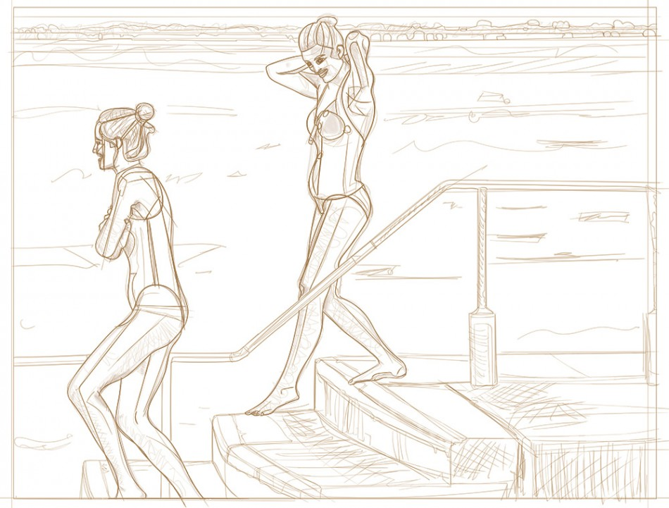 Entering the sea (2015 #987)
