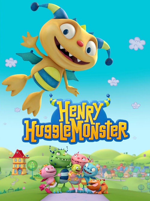 Henry Hugglemonster, Disney Junior.