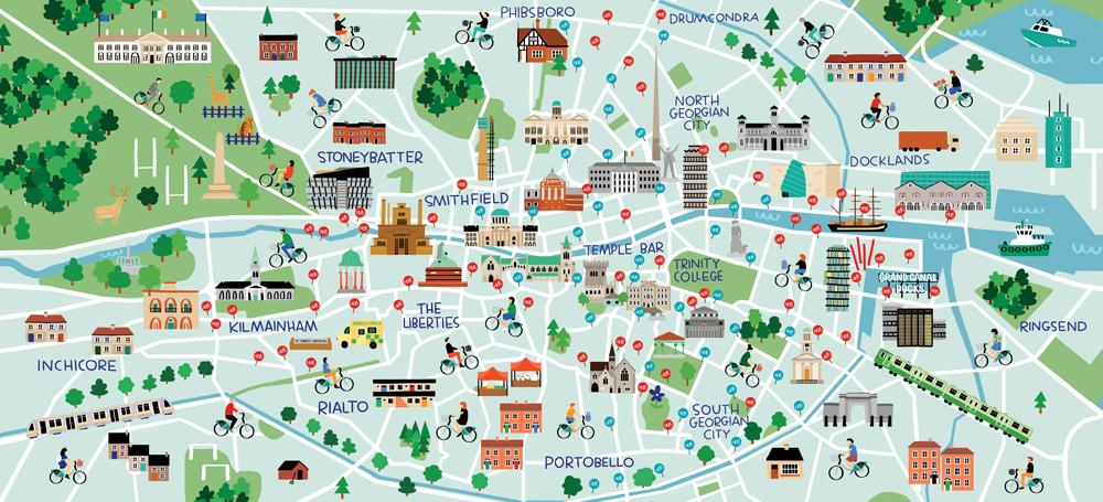 Dublin Bikes Map