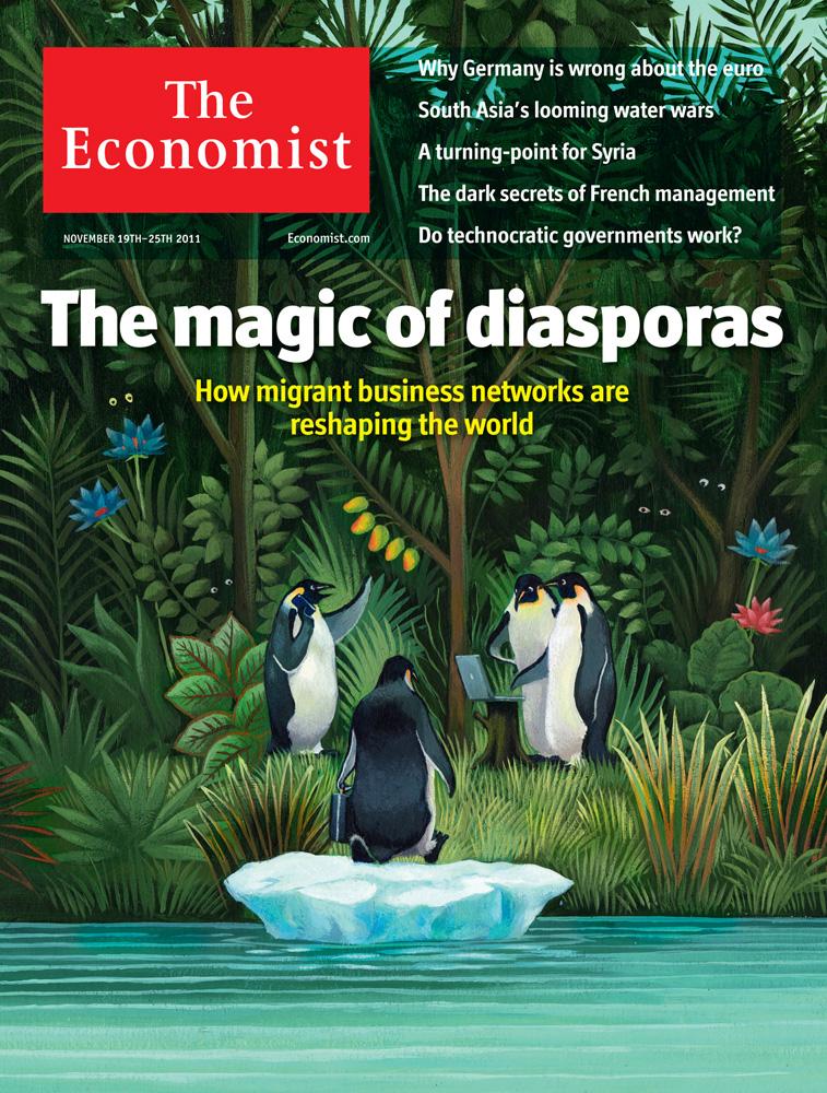The Magic of Diasporas