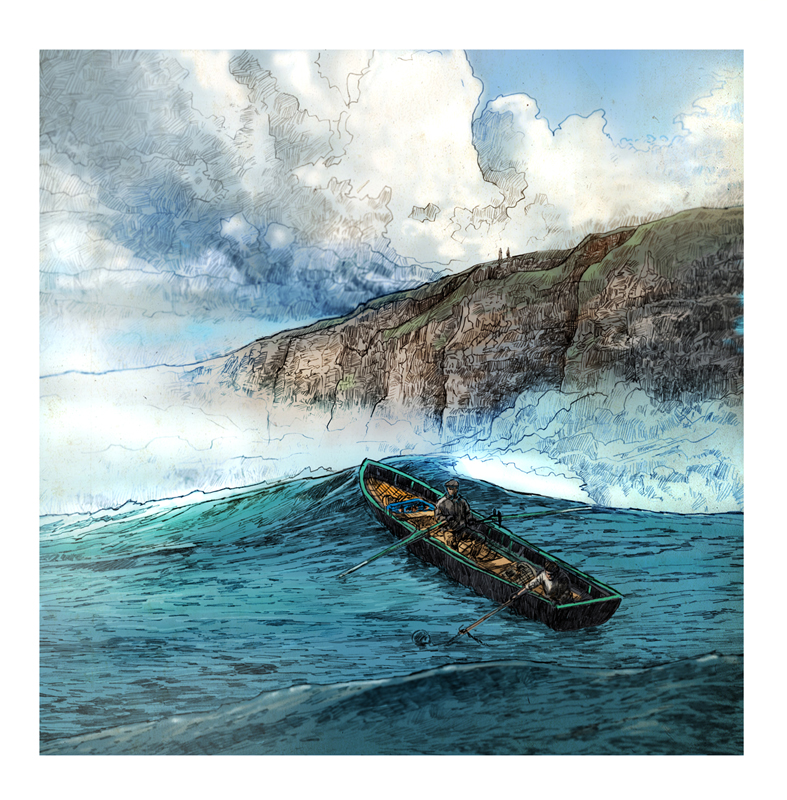 Wild Atlantic Way illustration