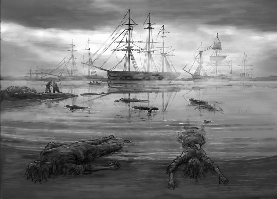 Irish Famine illustration
