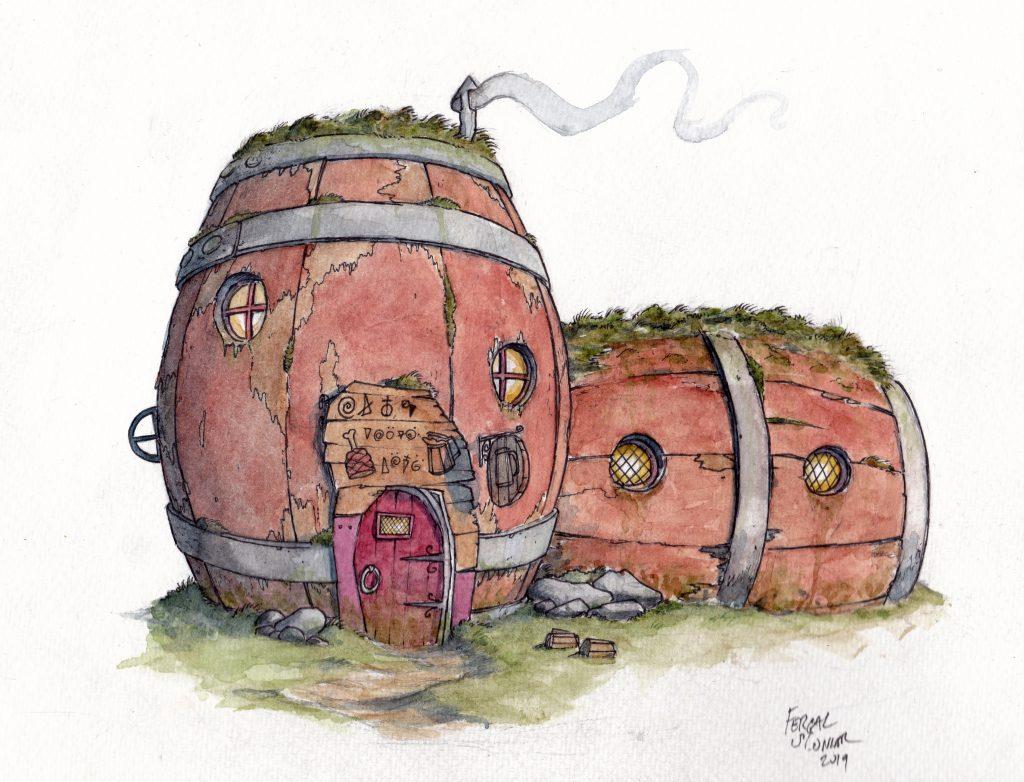 The Mossy Barrel Tavern