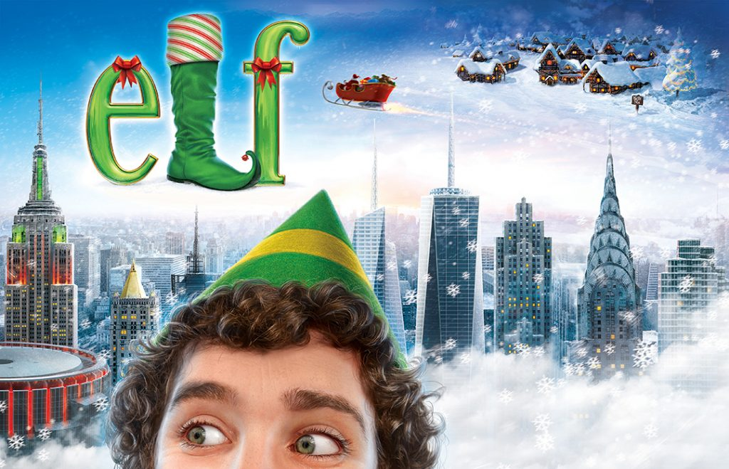 Elf-musical-MSGarden-billboard-Sam-Hadley