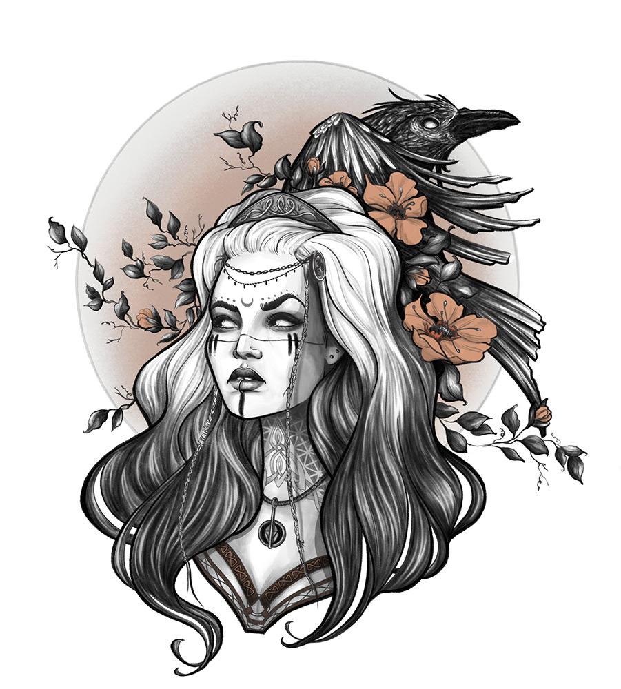 Raven - Audrey Dowling