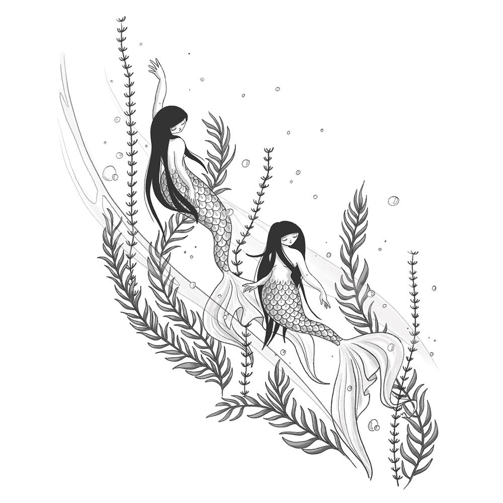 Mermaids - Audrey Dowling