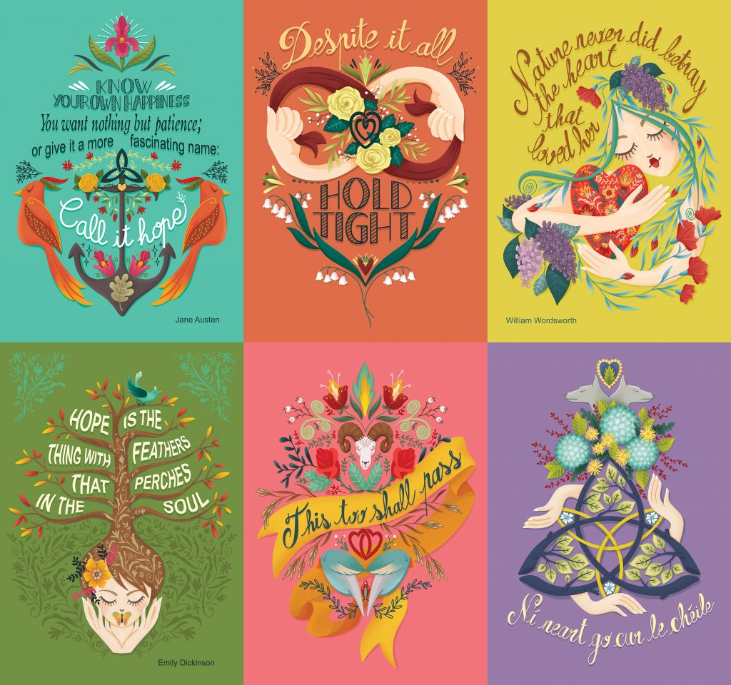 6posters - Audrey Dowling