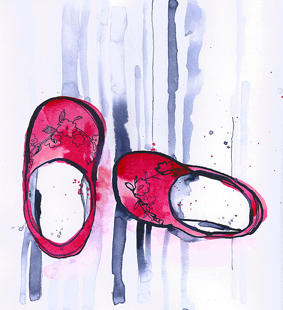 red shoes-web
