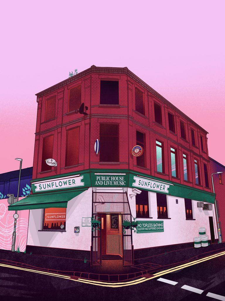 The Sunflower Bar - Belfast