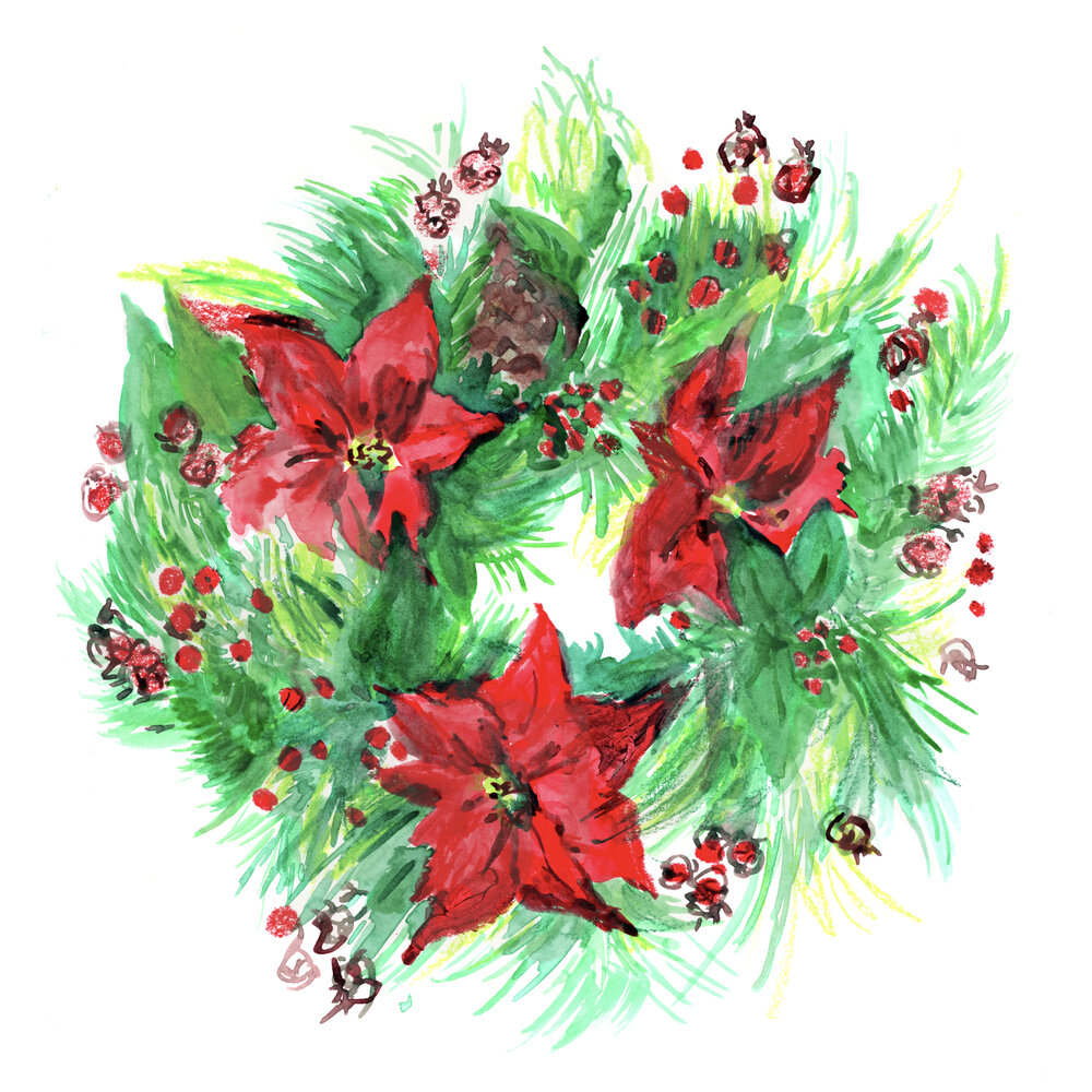 Louise-Naughton-Illustration-Christmas-Wreathe)