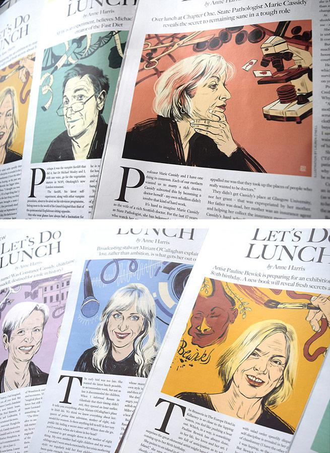 Portrait series for The Gloss Magazine