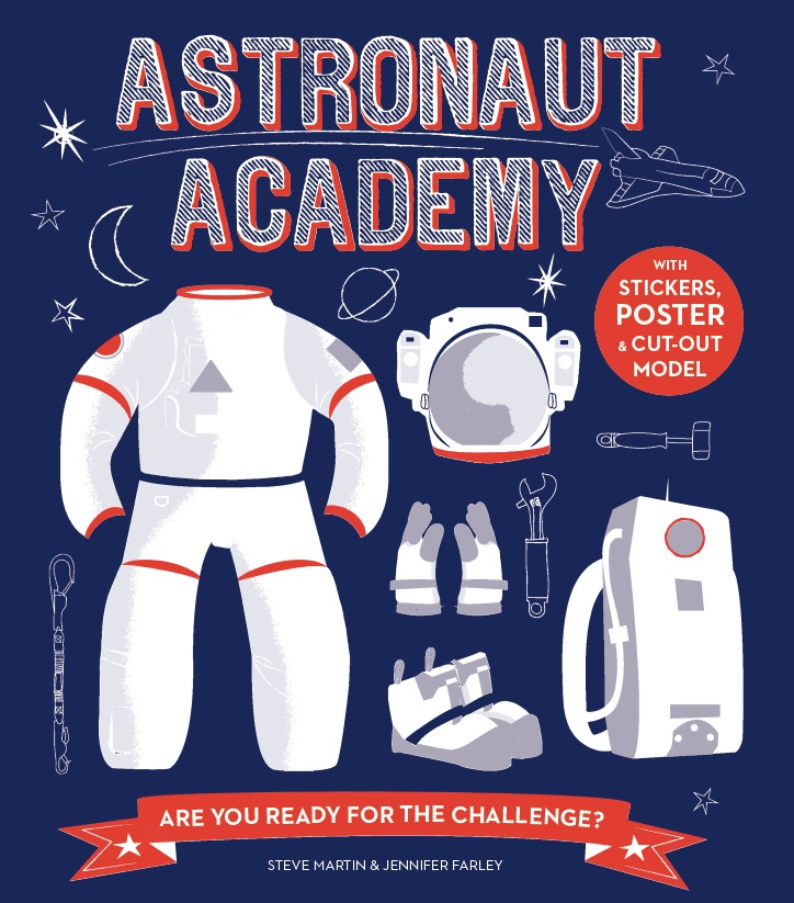 Astronaut Academy Book Illustration and Cover by Jennifer Farley