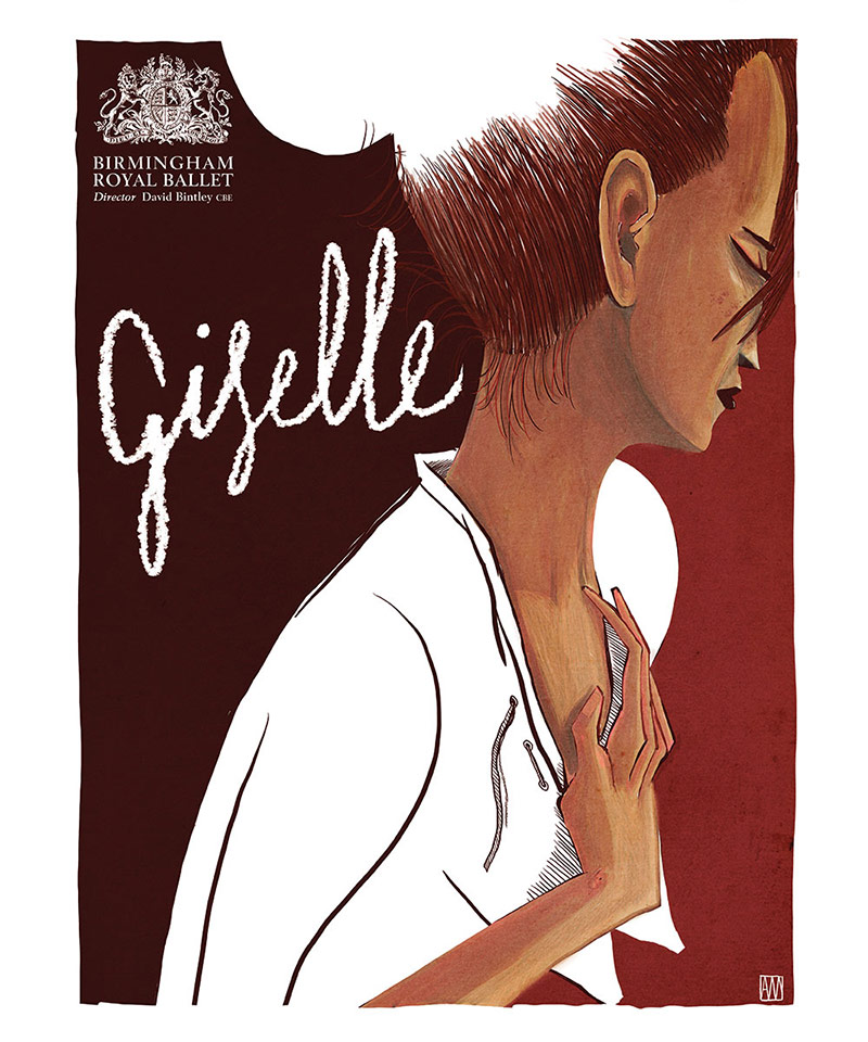 Poster for La Giselle