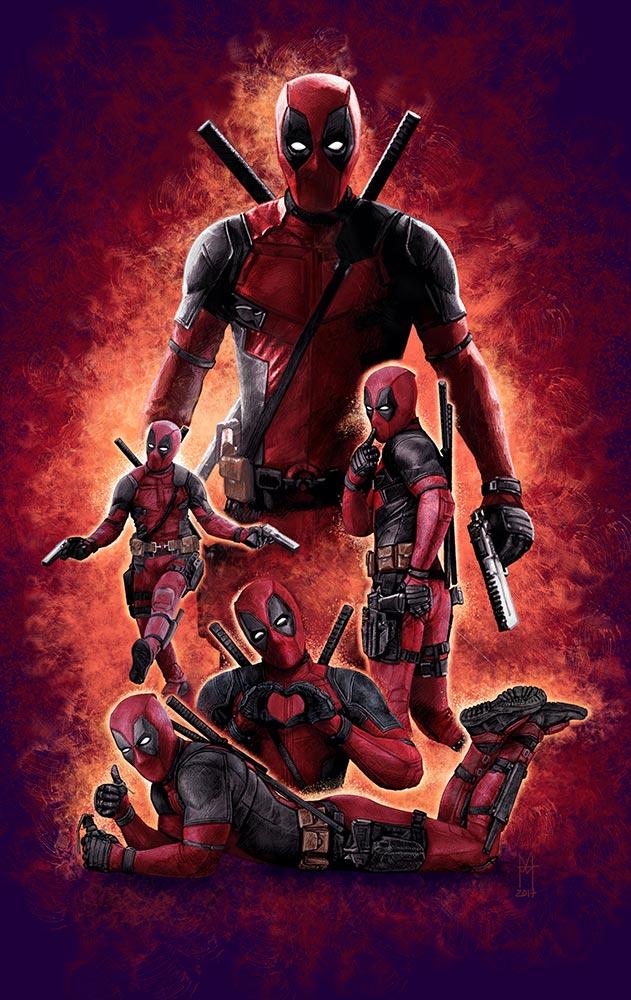 Deadpool - martin beckett art