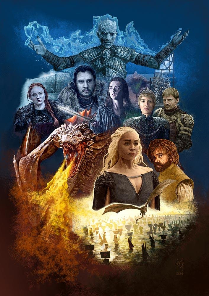 Game of Thrones - martin beckett art