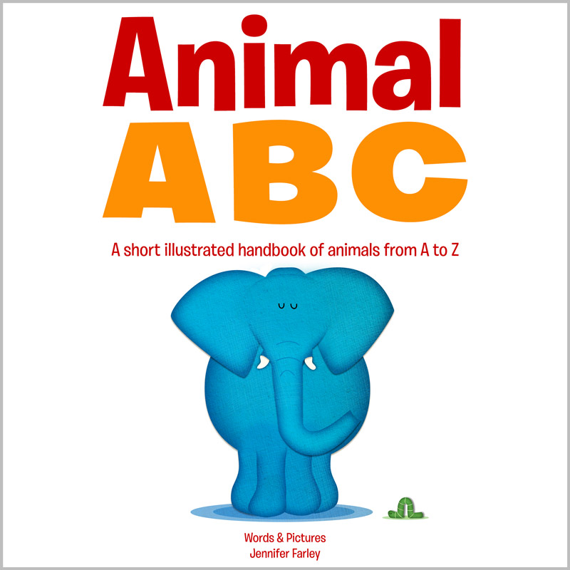 Animal ABC Book - Illustrated by Jennifer Farley