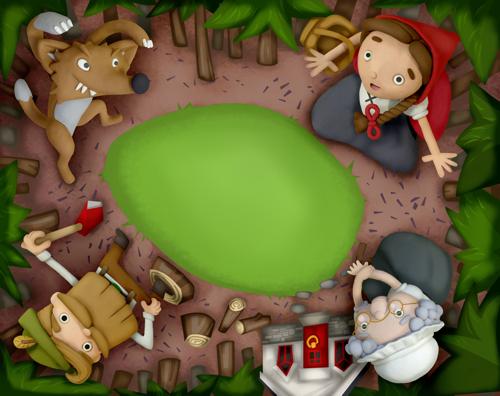 Red Riding Hood - by Martin Beckett