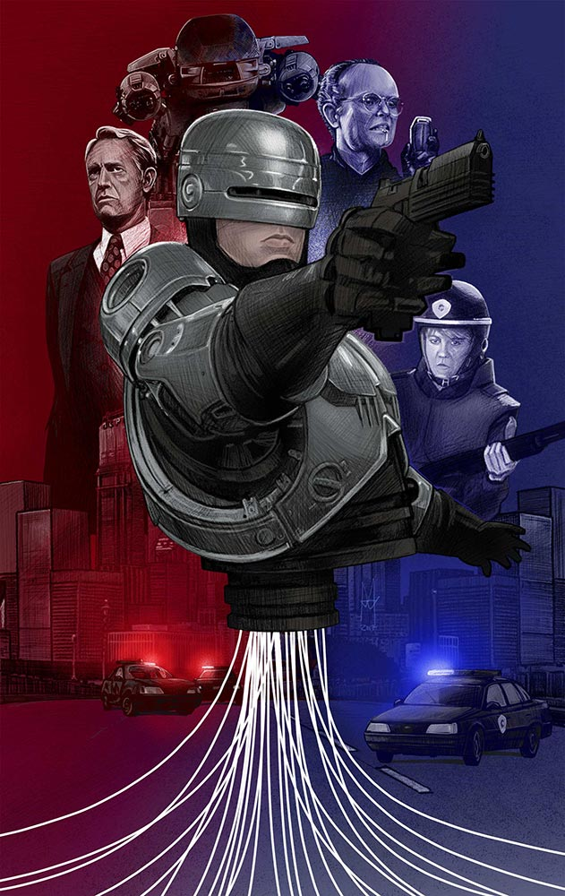 Robocop - martin beckett art