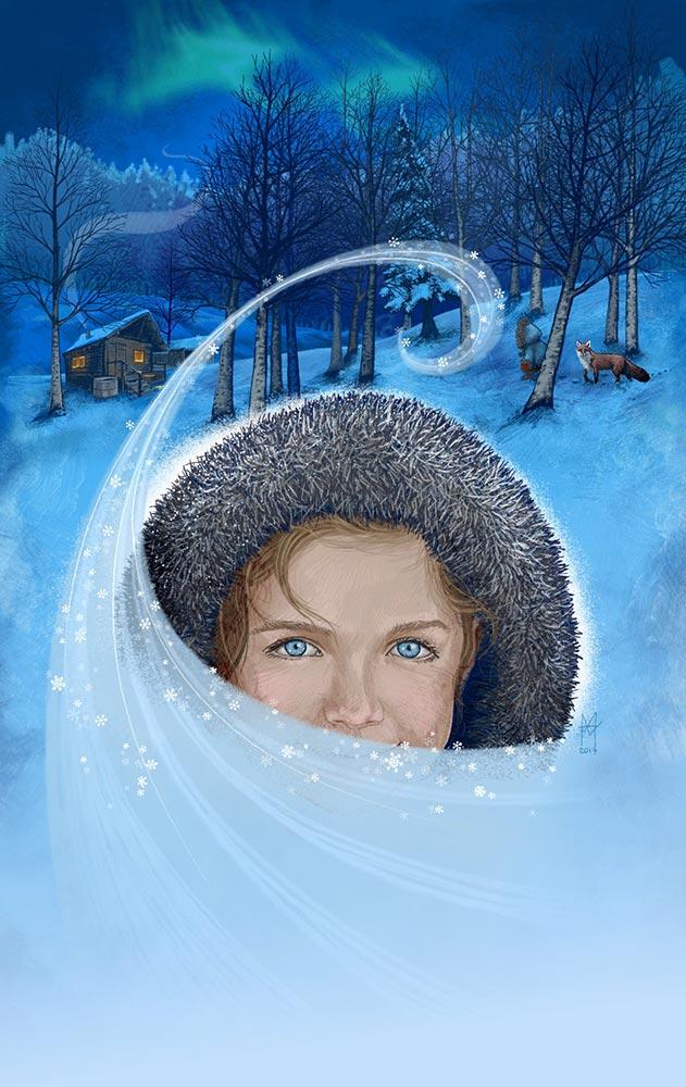 The Snow Child - Martin Beckett art