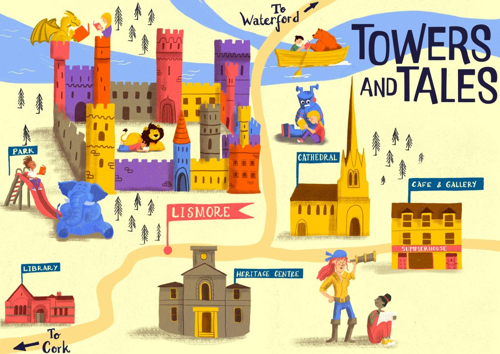 Towers And Tales Lismore Map - Jennifer Farley