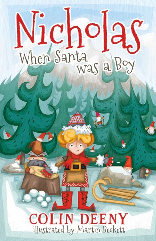 When Santa was a boy - Martin Beckett - Banba Publishing