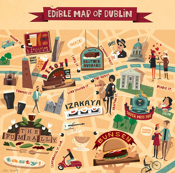 The Edible Map of Dublin