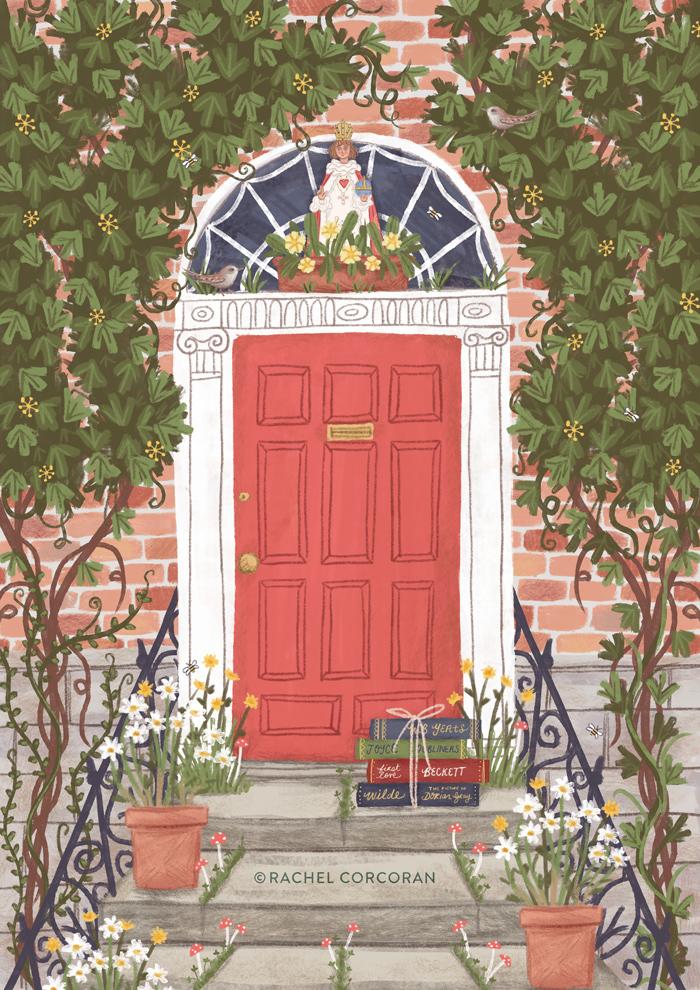 Irish Writers & Wildflowers