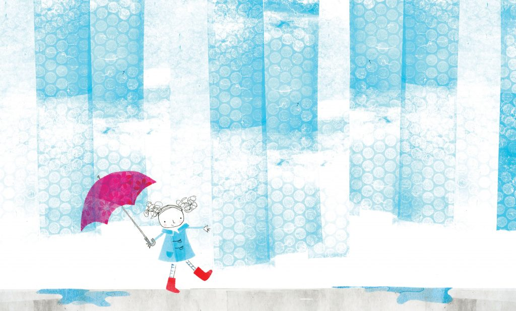 From Eva and the Perfect Rain