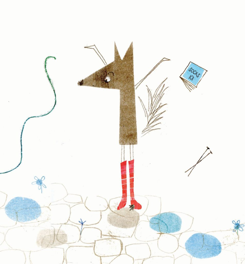 Image from Socks for Mr Wolf