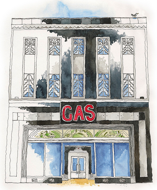 The Gas Works on D
