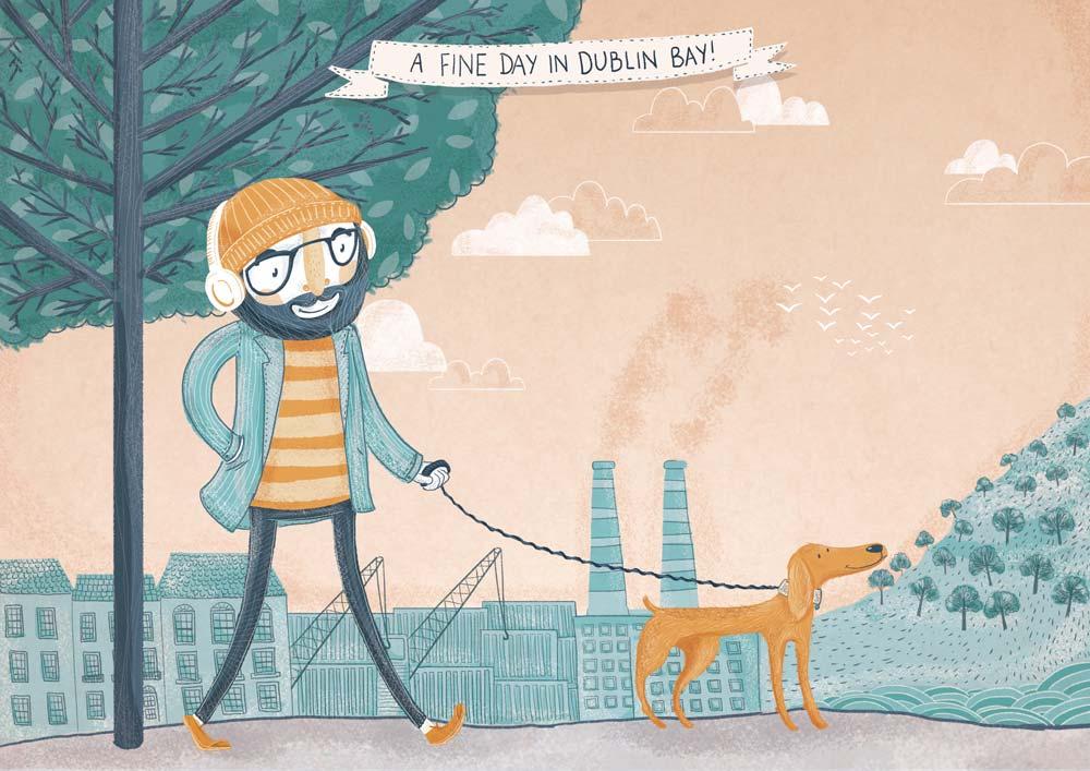 A Fine Day in Dublin Bay