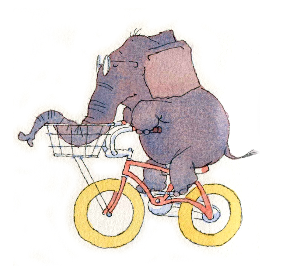 Elephant-bike