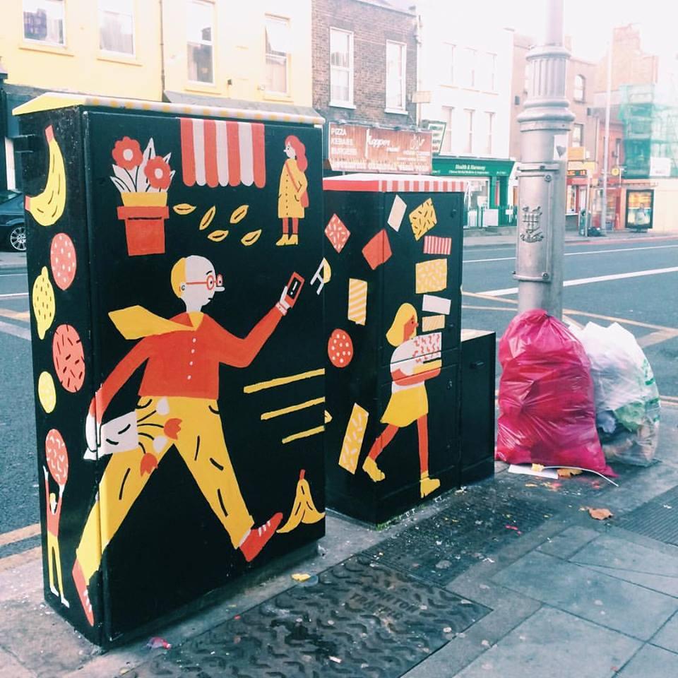Dublin Canvas Box