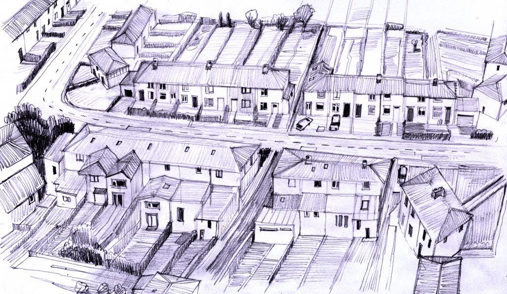 North Dublin streets