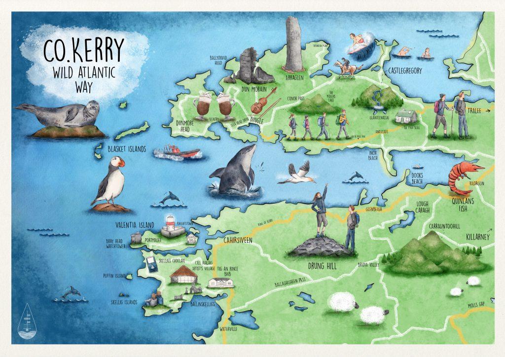 Co. Kerry. Wild Atlantic Way