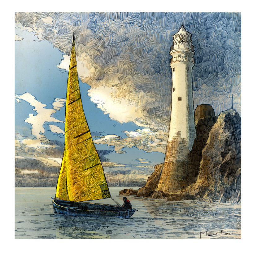 Wild Atlantic Way illustration